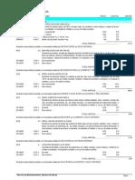 Base de Precios 2013. Mediciones, Presto