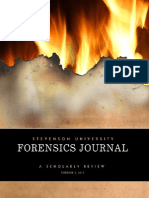 Forensics Journal Stevenson University 2014