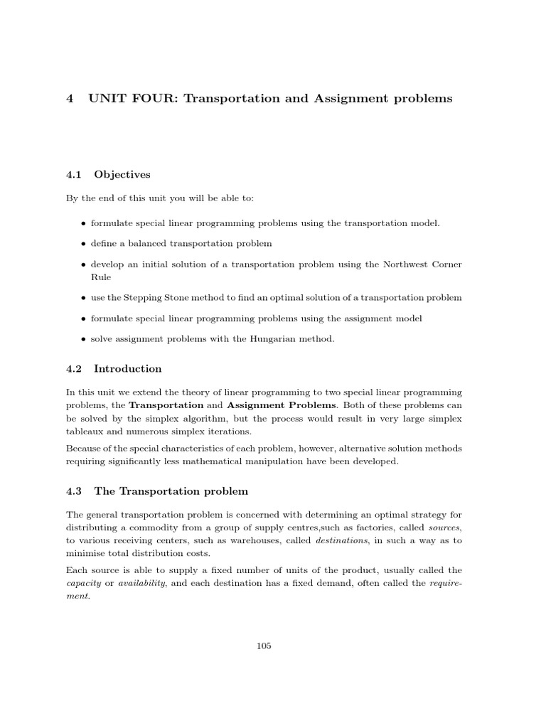 transportation problems and solutions essay