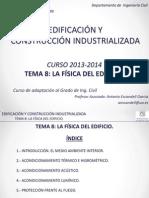 Tema 8-La Fisica Del Edificio-2014_rev00