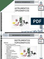 instrumentos topograficos