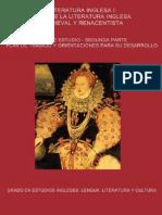 Guia de Estudio ejes literatura inglesa medieval y renacentista