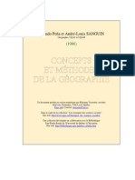 Concepts Methodes Geographie