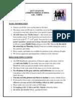 Dance Information