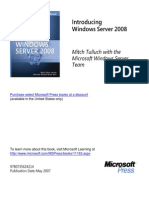 Windows Server 2008 From MS Press