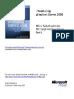 Windows Server 2008 From MS Press