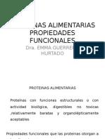 PROTEINAS ALIMENTARIASPROP FUNCIONALES