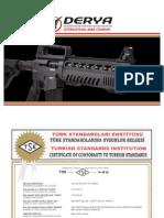 Derya Arms Mk-10 Vertical Magazine Shotgun Instructions Manual