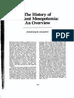 The History of Ancient Mesopotamia