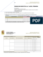 Modelo de Programación en Blanco Ceip Porzuna