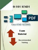 100-101 ICND1 Braindumps Exam