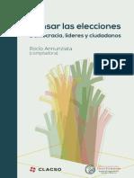Pensar Las Elecciones. Democracia Líderes y Ciudadanos