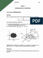 Integrales de superficie. Apunte de materia + Ej. Resueltos