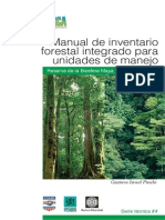 Manual Inventario Forestal Integrado