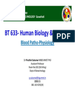 BT 633 Lecture-6 Blood Physiology