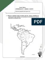 4 Basico Guias de Aprendizaje Historia Geografia y Ciencias Sociales Agosto