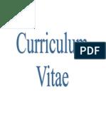 Curriculum Vitae Francy