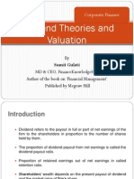 Dividend Policy and Valuation