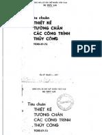 TCXD 57-73 Thiet Ke Tuong Chan