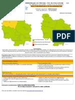 Pollutions dans l'Yonne