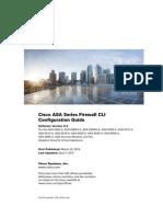 Cisco ASA Series Firewall CLI