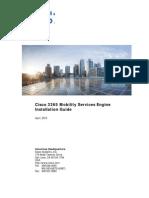 Cisco 3365 Mobility Services Engine