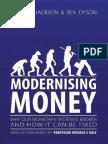 Modernising Money full book by Positive Money