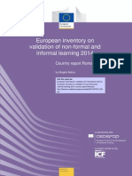 Country Report Romania Non-Formal & Informal Learning