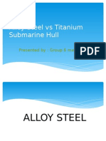 Alloy Steel vs Titanium Submarine Hull