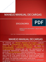 Manejo Manual de Cargas