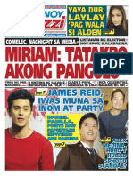 Pinoy Parazzi Vol 8 Issue 125 October 14 - 15, 2015