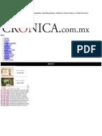 La Crónica de Hoy | Renovación en el Partido Revolucionario Institucional - Dr. Manuel Añorve Baños