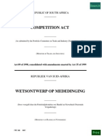 Competition Act of South Africa