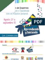 Catálogo Aprendiendo y Haciendo con el Público Infantil