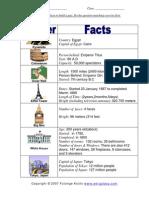 3946080 World Wonder Facts