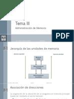 Administración de Memoria