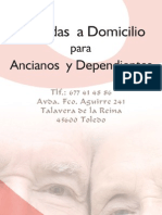 Flyer Ancianos La Artesana