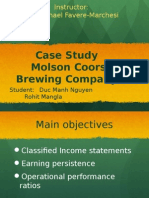 Molson Coors Case Study