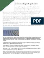 Proposed Mississippi rules on solar panels spark debate