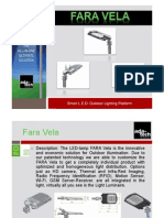 FARA VELA-Smart L.E.D. Lighting Platform-Adatech
