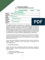 Programa de Gobierno Michel Maya Partido Alianza Verde