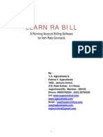 Learn RA Bill-Running Account Billing Software