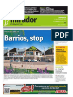Edición impresa del domingo 11 de octubre de 2015