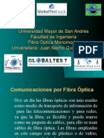 Exposicion Globaltest Fibra Optica