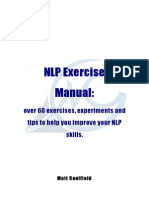 Nlp Exercise Manual
