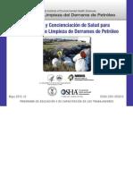 Seguridad y Concienciación de Salud Para Derrames de Petroleo OSHA
