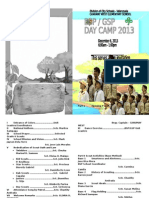 Programme Day Camp
