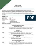 nitin dhiwar resume