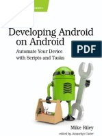 Developing Android on Android Automate Your Device With Scripts and Tasks