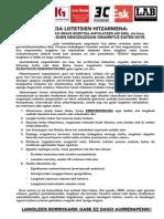 Hitzarmena Idazki Bateratua 2015-2 EUS-1